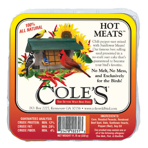 Coles Hot Meats Suet - 11.75 oz