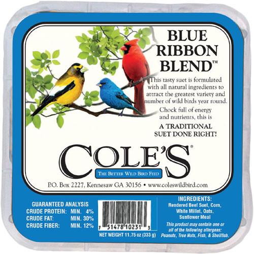 Coles Blue Ribbon Suet - 11.75 oz