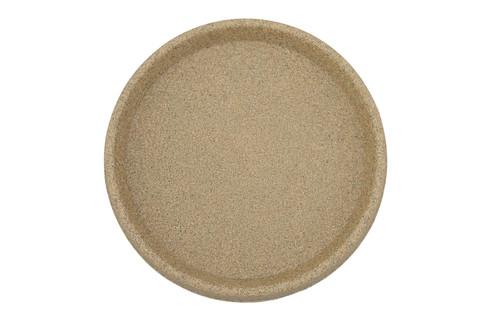 Tusco Round Saucer Sandstone Plastic - 12 inch
