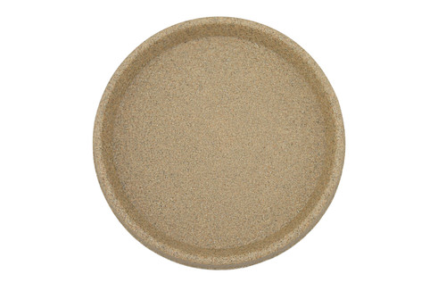 Tusco Round Saucer Sandstone Plastic - 16 inch