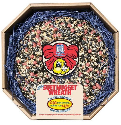 Suet Nugget™ Wreath - 2.6 lbs