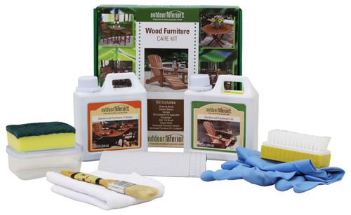 Patio Accessory - Hardwood Oil and Maintenance Kit