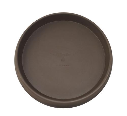 Tusco Round Saucer Espresso Plastic