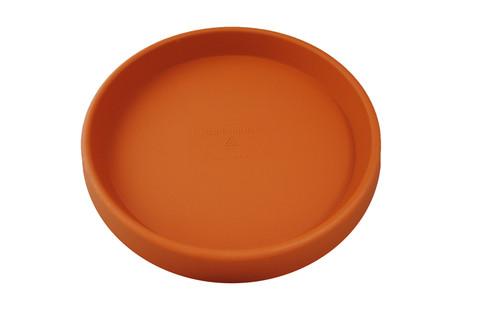 Tusco Round Saucer Terra Cotta Plastic