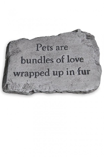 Stone - Pets Are Bundles of Love