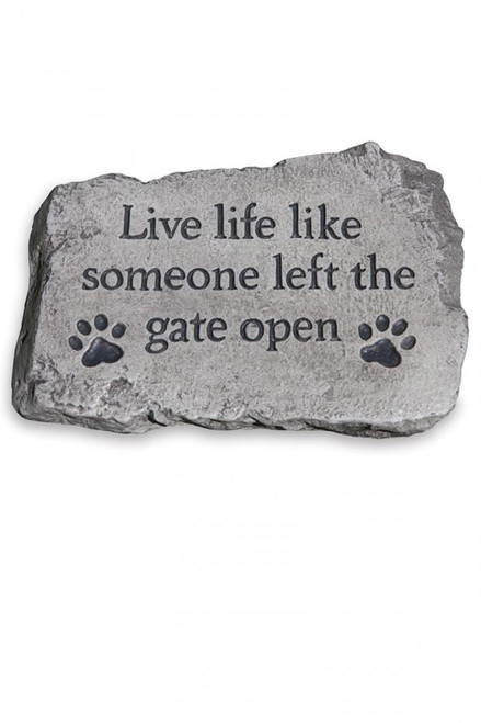 Stone - Live Life Like Someone Left the Gate Open