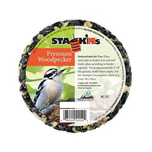 Premium Woodpecker Stack'Ms Seed Cake - 7 oz