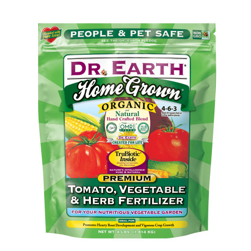 Dr Earth Tomato Vegetable And Herb Fertilizer