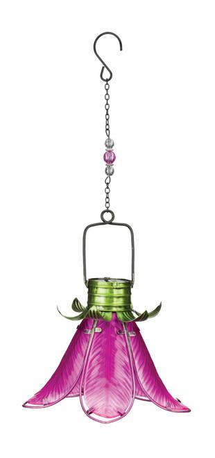 Solar Flower Lantern Pink Lily