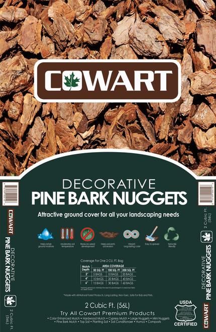 Cowart Pine Bark Nuggets