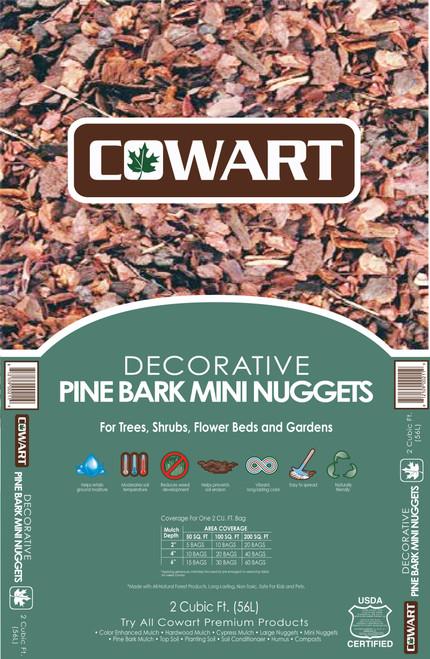 Cowart Pine Bark Mini Nuggets