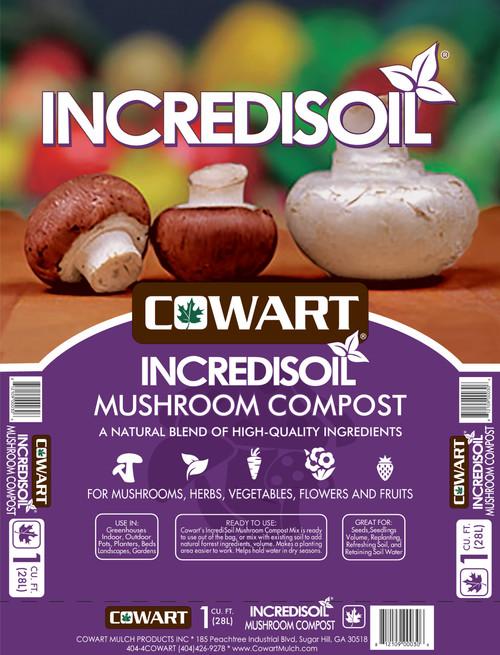 Incredisoil Mushroom Compost