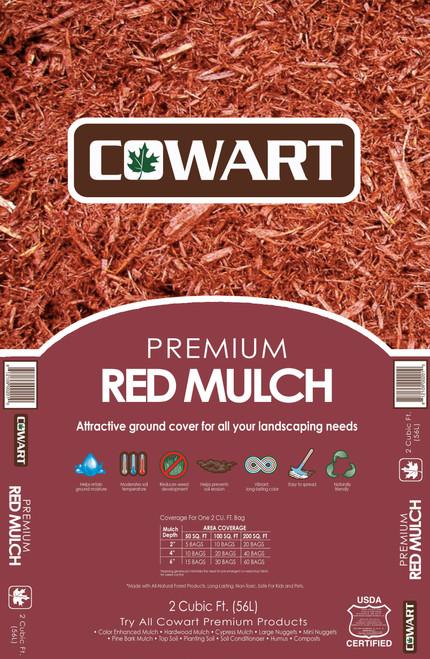 Cowart Red Mulch