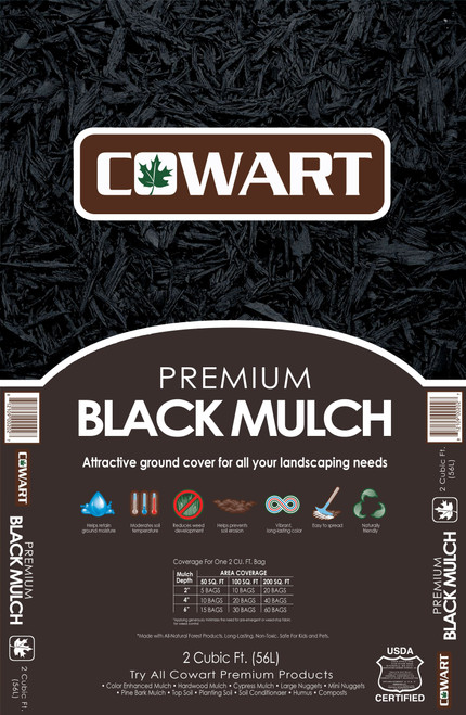 Cowart Black Mulch