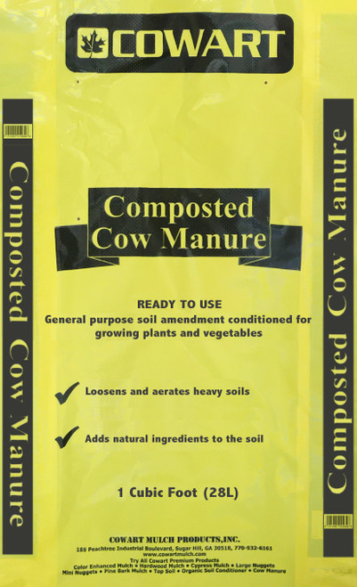 Sugar Hill Composted Cow Manure