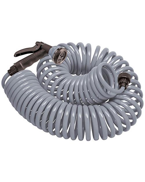 Orbit Coil Hose/Nozzle-Gray