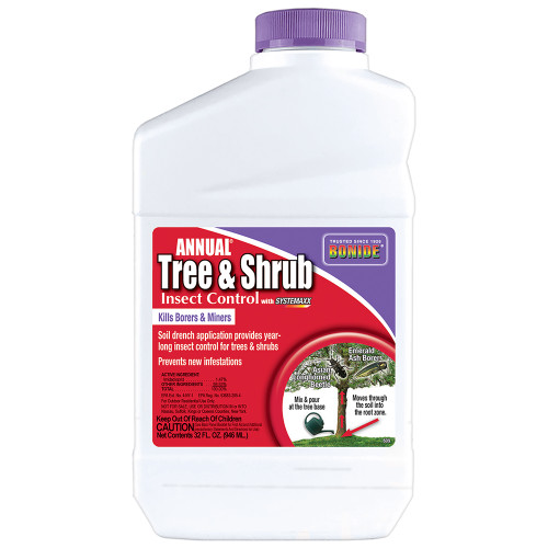 Annual® Tree & Shrub Insect Control w/ Systemaxx Concentrate - 32 oz