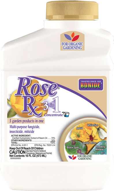 Rose Rx® 3-in-1 Concentrate - 16 oz