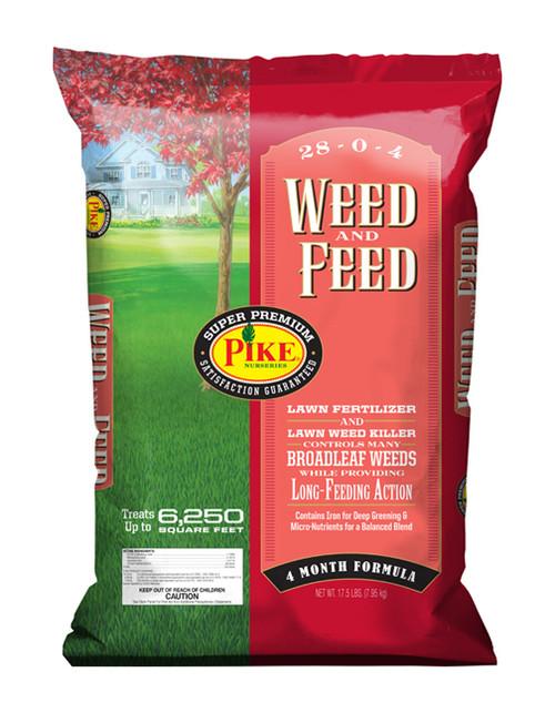 Pike Weed & Feed 28-0-4 - 17.5 lb