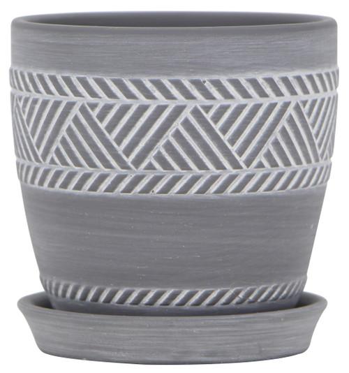 Glazed Ceramic Nolita Planter - 4.5 inch