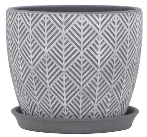 Glazed Ceramic Nolita Planter - 7 inch