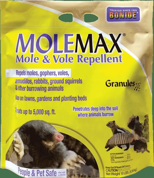 MoleMax® Mole & Vole Repellent Granules - 10 lb