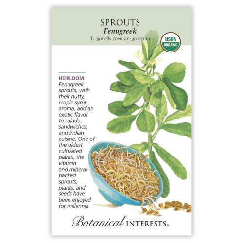 Fenugreek Sprouts Seeds Organic