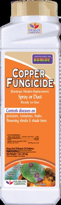 Copper Fungicide Dust - 1 lb