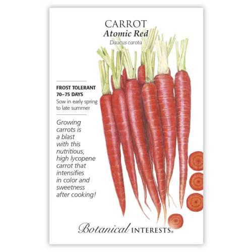 Atomic Red Carrot Seeds