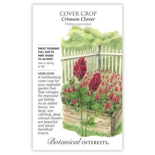 Crimson Clover Cover Crop Seeds Heirloom