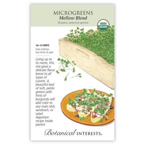 Mellow Blend Microgreens Seeds Organic