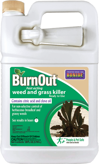 BurnOut® Fast-Acting Weed & Grass Killer Ready-To-Use - 1 gallon