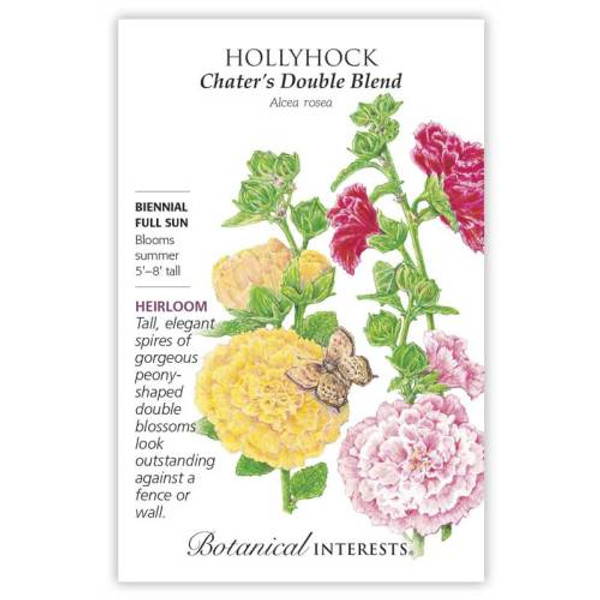 Chater's Double Hollyhock Seeds Heirloom