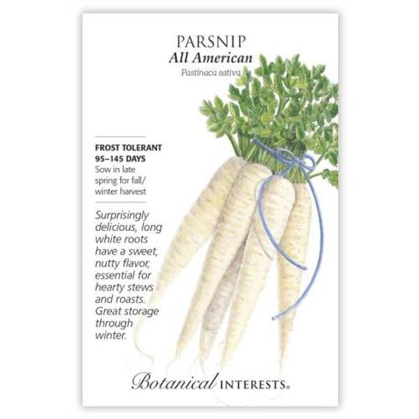 All American Parsnip Seeds
