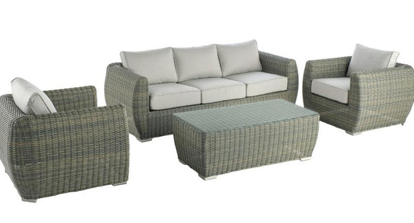 Patio Seating - Newport 4pc Deep Seating Group