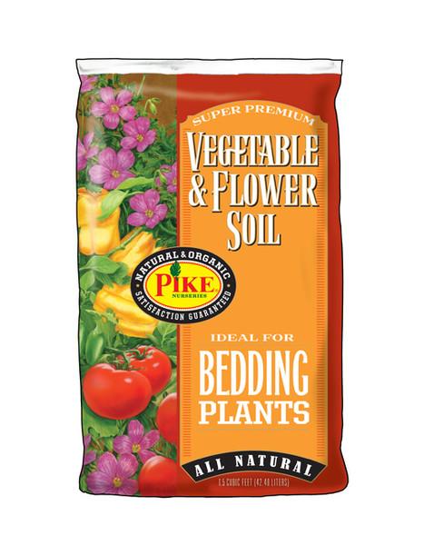 Pike Vegetable & Flower Soil - 1.5 Cf