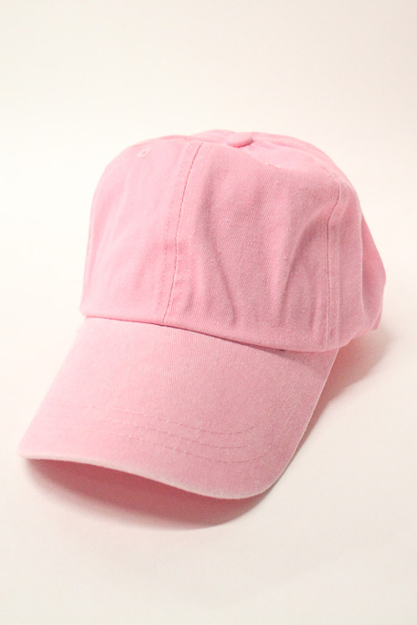 6957dadec42ac Personalized Vintage Baseball Cap Light Pink - The Pink Lily