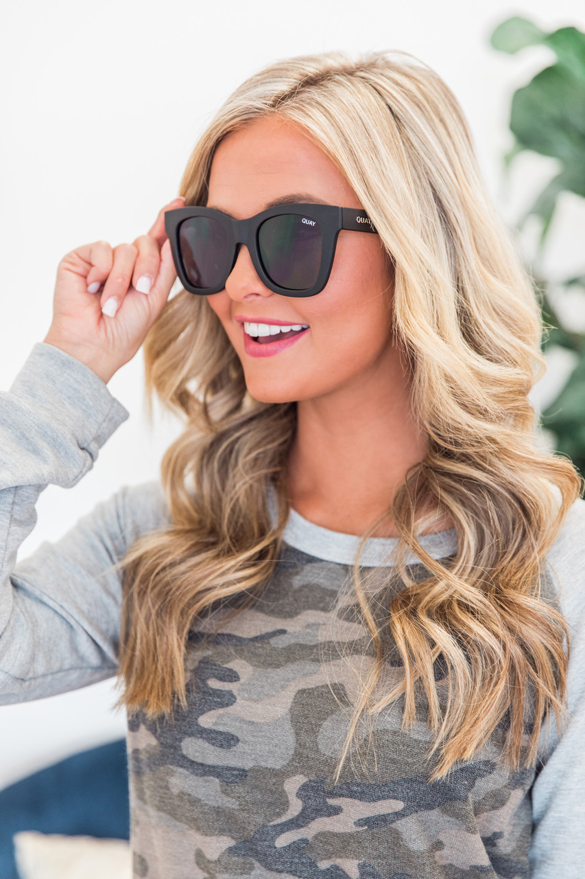 85d43d27b2 Quay Australia After Hours Sunglasses Black - The Pink Lily
