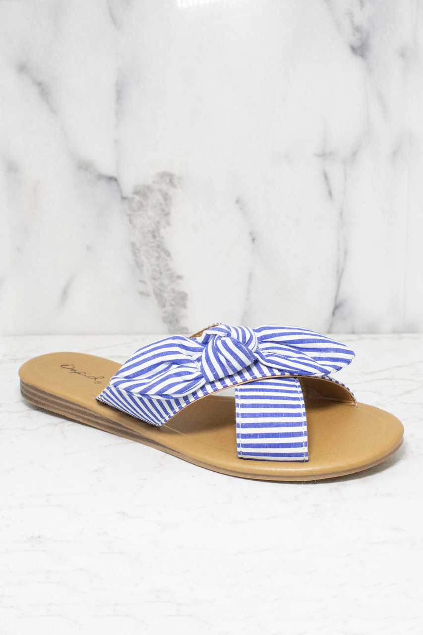 aebbb9bfa613 The Savannah Sandals Blue - The Pink Lily