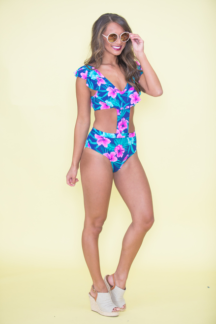 b4f3e693f7a Queen Of The Ocean Swimsuit - The Pink Lily
