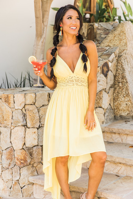 Capture A Sunset Maxi Dress Yellow - The Pink Lily ac205f5e0