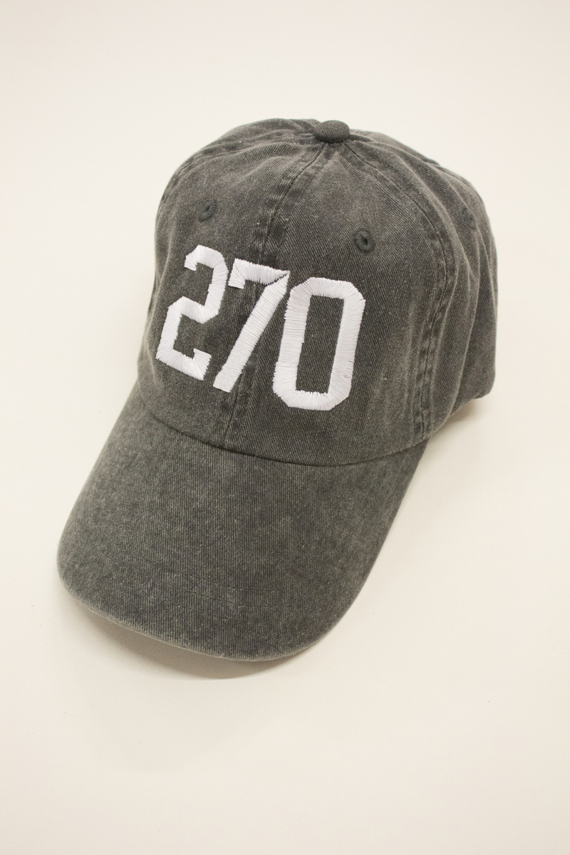270 Embroidered Baseball Cap