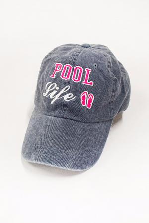 252aa0044a830 Pool Life Embroidered Baseball Cap