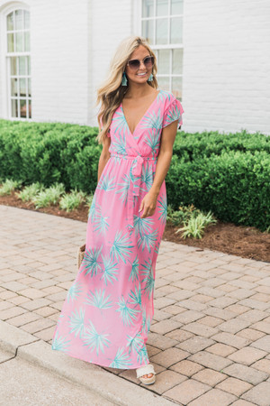 87739a7e1f7e3 Boutique Floral Dress | Explore Long Floral Print Dresses at Pink Lily