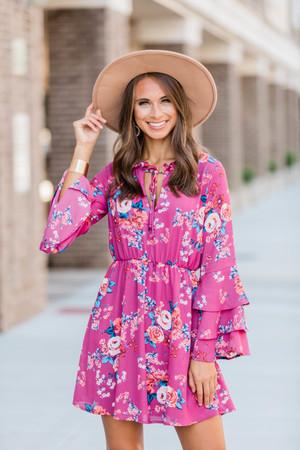 57c446b1ce5 Boutique Floral Dress   Explore Long Floral Print Dresses at Pink Lily