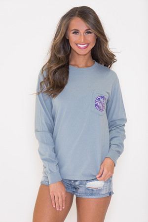 af3c808c0245 Custom Women's Shirts | Monogram Shirts for Girls at Pink Lily
