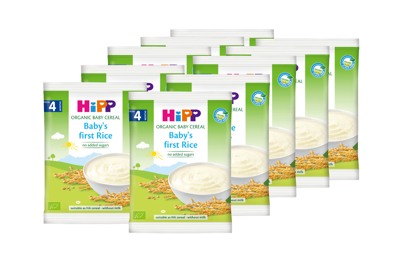 HiPP Cereal Pap - Baby Rice 20g (Photo for reference only)  | HiPP 喜寶 有機米糊 - 純米 20克 (圖片只供參考)