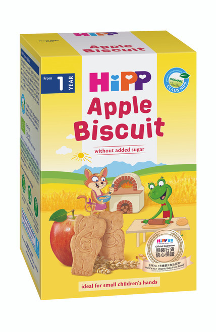 HiPP Apple Biscuit for Toddlers 150g (Photo for reference only) | HiPP 喜寶有機蘋果餅乾 150克 (圖片只供參考)