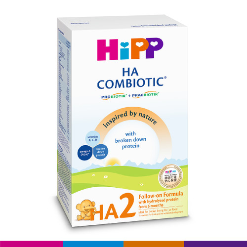 HiPP 喜寶低敏雙益較大嬰兒奶粉 (350克)(圖片只供參考) | HiPP HA2 Combiotic Follow-On Formula (350g)(Photo for reference only)