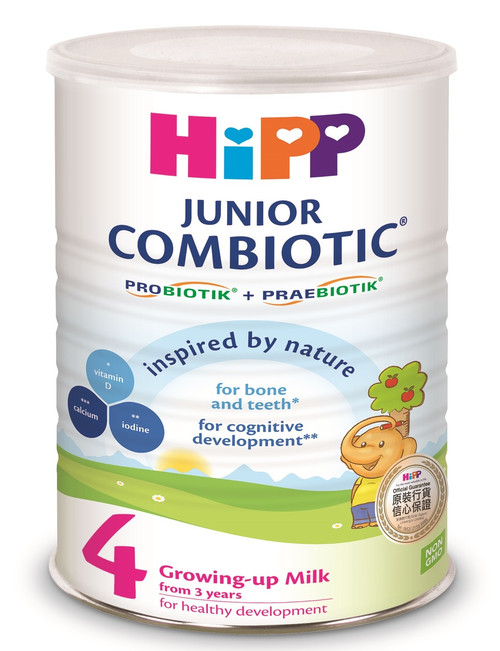 HiPP 4 Junior Combiotic Growing-up-Milk 800g (Photo for reference only) | HiPP 喜寶雙益兒童成長奶粉 800克 (圖片只供參考)